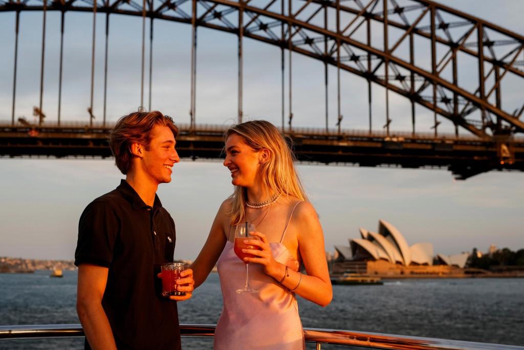 Valentine's Day on Sydney Harbour